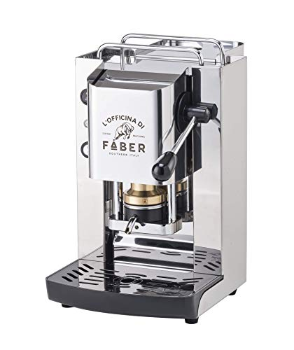 Macchina Caffe FABER SLOT TOTAL INOX in Acciao a Cialde in Carta Ese 44mm
