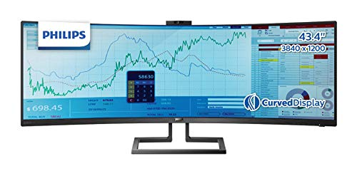 PHILIPS モニター ディスプレイ 439P9H1/11 (43.4インチ/32:10/曲面//5年保証/「Display HDR 400」認証/384...