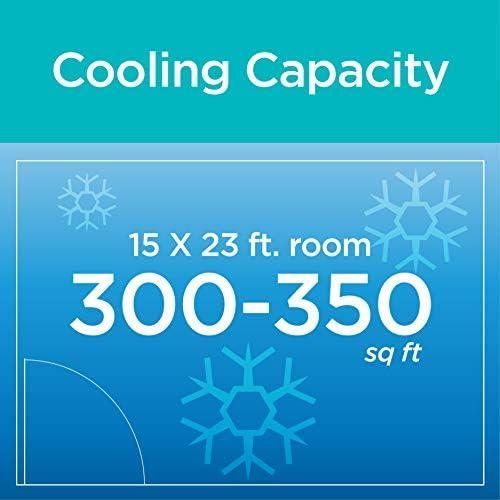 BLACK+DECKER BPACT14WT Portable Air Conditioner with Remote Control, 7,700 BTU DOE (14,000 BTU ASHRAE), Cools Up to 350 Square Feet, White 16