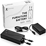 Battery Pack for Reclining Furniture- The Furniture Battery -Universal Electric Recliner Battery Pack Rechargeable 2500mAh 25.9v Power Recliner Battery Pack for Power Recliner, Couch, Chair, or Sofa