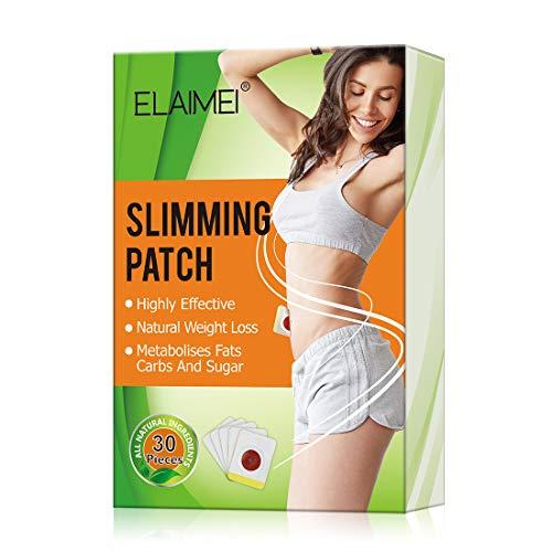 ELAIMEI Slimming Sticker, Weight Loss Sticker, Slimming Tightening Sticker for Shaping Waist, Abdomen and Buttocks, Quick Slimming