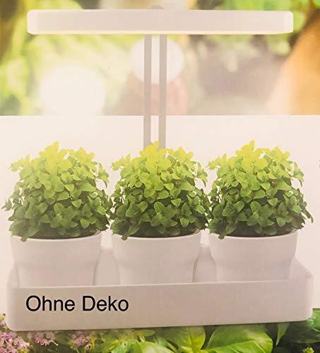 LED Pflanzenleuchte/Kunststoff, Metall; ca. 1.350 lm; Lichtfarbe: ca. 4.000 K; sehr gute Farbwiedergabe, Ra > 90; 10