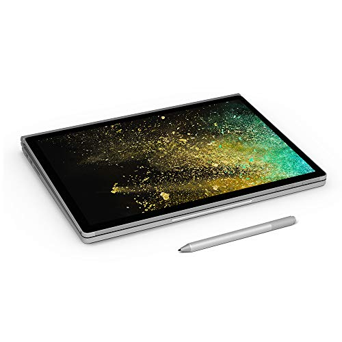 Microsoft Surface Book 2 Intel Core i7 8th Gen 13.5 inch Touchscreen 2-in-1 Laptop (8GB/256GB/Windows 10 Pro/Integrated Graphics/Platinum/1.642kg), HN4-00033 8