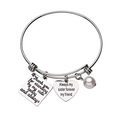 CJ&M Wedding Gift Bridesmaid Bracelet Jewelry for Best...