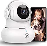 [2021 New] 1080P Baby Camera Monitor, Littlelf Pan/Tilt Security Camera Pet Camera with Motion...