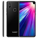 CUBOT Max 2 Smartphone 4G Dual SIM, Télephone Portable débloqué Écran FHD 6,8' (19:9) 5000mAh Batterie Android 9.0, 4Go-64Go (Extensible à 256Go) Double Camera 16MP+2MP/ 8MP Identité faciale,Noir