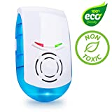 Livin' Well Ultrasonic Pest Repeller Plug in – Electronic Indoor Mouse, Rat, Spider, Mice and Rodent Repeller Plug in, LED Pest Repellent Plug in Device (1pk)