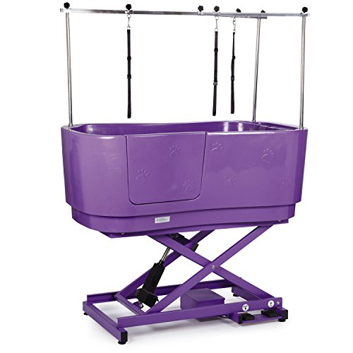 Master Equipment Poly Pro Lift Grooming Tub,...