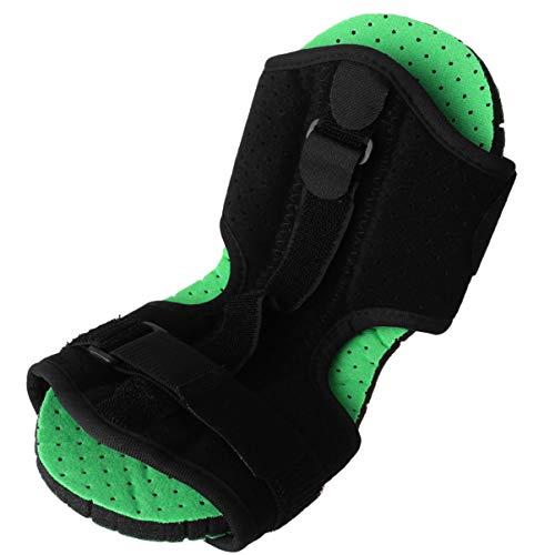 HEALLILY Sprunggelenkbandage nachts Fußschiene Knöchelorthese verstellbare Stabilisator Fußorthese für Plantarfasziitis Sportverletzungen Männern Frauen