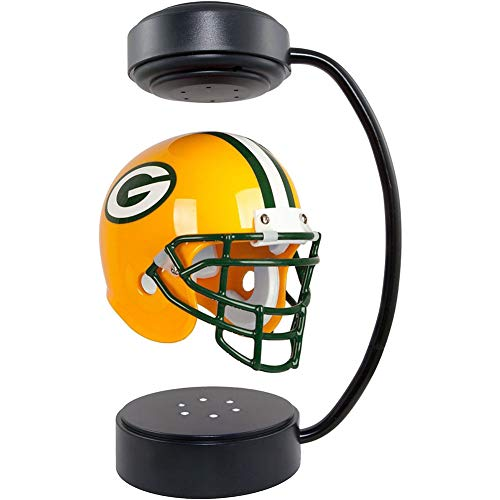LFTS Schwebehelme NFL Sammelbare Hover Football Helm Green Bay Packer mit elektromagnetischem...
