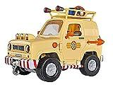 Smoby - Sam le Pompier - 4X4 - Portes et Coffre Ouvrants - Fonctions Lumineuses...