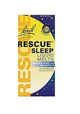 """Look for """"SHIPS AND SOLD BY AMAZON.COM"""" to ensure RESCUE USA product authenticity and valid expiration/use by dates. Help calm repetitive thoughts so you fall asleep naturally and wake refreshed, ready for the busy day ahead with RESCUE SLEEP LIQUID ..."""