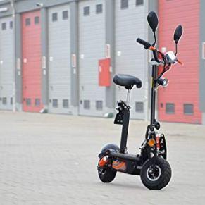 Patinete eléctrico con permiso de circulación, scooter eléctrico hasta 35 km/h, alcance de 25 km, 36 V - 1000 W, batería…