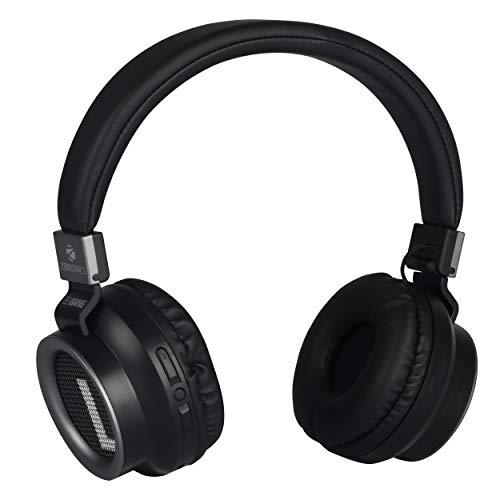ZEBRONICS Zeb-Bang Wireless Bluetooth Over The Ear Headphone with Mic (Black)