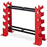 RELIFE REBUILD YOUR LIFE Dumbbell Rack Weight Stand Dumbbell Storage for Home Gym Metal Workout Stable