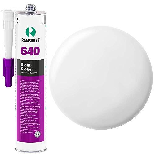 Ramsauer 640 Dicht Kleber 1K Hybrid Dichtstoff 310ml Kartusche (Weiß)