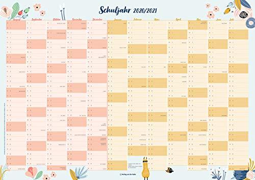 Der Schuljahres-Wandkalender 2020/2021, A1
