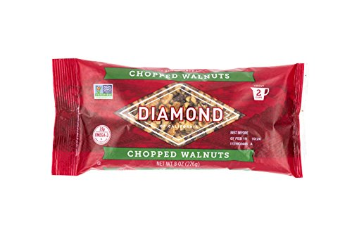 Diamond of California Walnuts, Chopped, 8 oz. Bag