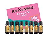 Naissance Set Aromaterapia Meditación y Yoga Top 8 Aceites Esenciales - Menta, romero, cedro, ylang...