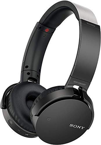 Sony MDR-XB650BT Cuffie Wireless On-Ear con Extra Bass, Batteria fino a 30 Ore, Bluetooth, NFC, Nero
