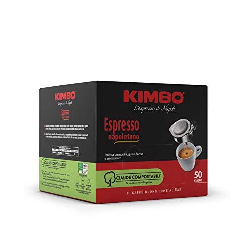 Kimbo Cialde Caffè Compostabili ESE Espresso Napoletano, 6 Pacchi da 50 Cialde (Totale 300 Cialde)