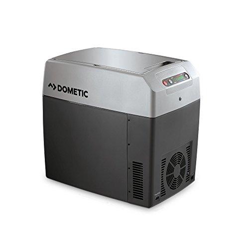 DOMETIC TropiCool TC 21FL - tragbare elektrische Kühlbox, 20 Liter, 12/24 V DC/ 220 - 240 Volt AC für Auto, Lkw, Boot, Reisemobil und Steckdose