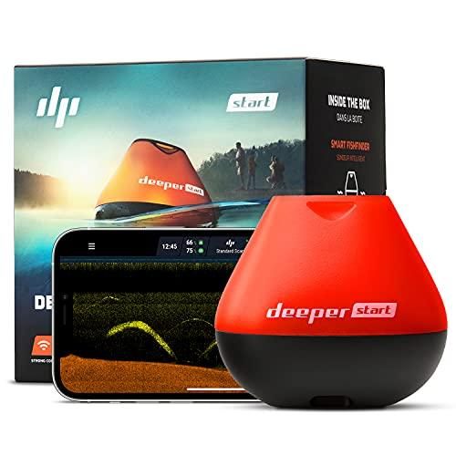 Deeper Start, Sonar Wi-Fi Unisex  Adulto, Nero/Arancio, Taglia Unica