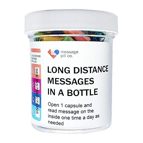Long Distance Relationships Gifts Love Messages in a Bottle...
