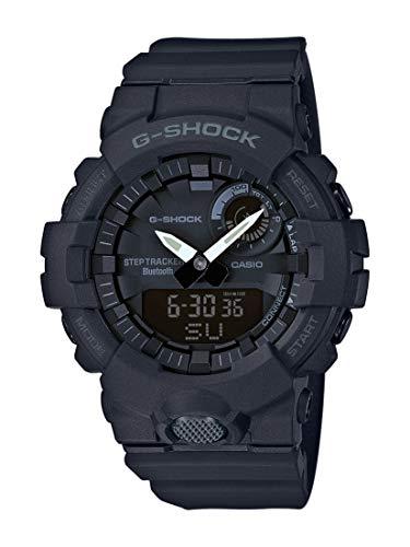 Casio G-SHOCK Orologio, Steptracker/Pedometro, Sensore di movimento, 20 BAR, Nero, Analogico -...