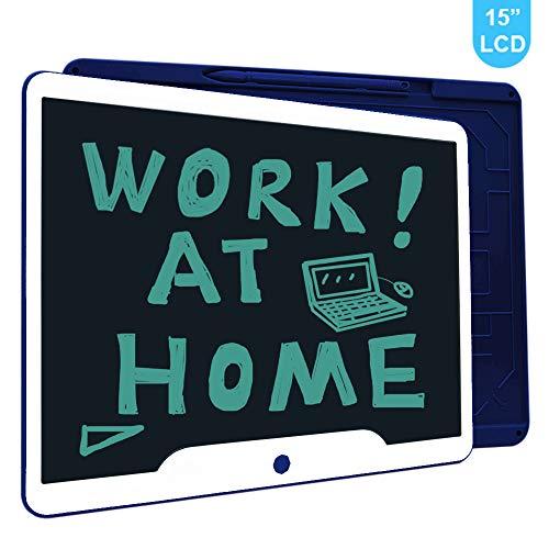 Richgv LCD Writing Tablet, 15 Pollici Elettronico Tavoletta Grafica Scrittura Digitale Ewriter,...