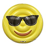Cool Emoji Pool Floats for Adults and Children – Giant Pool Floatie – Sunglasses Emoji Pool Toy