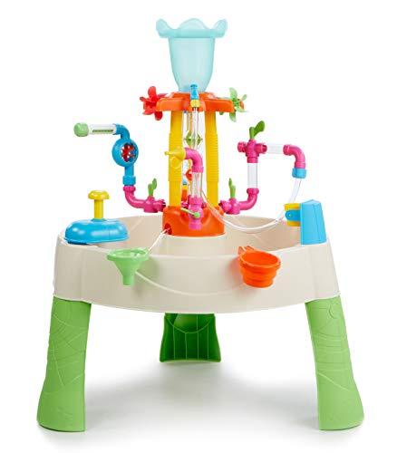 Little Tikes - Tavolo Acquatico Fountain Factory Gioco dAcqua per Bambini, Sicuro e Facile da Trasportare, Sviluppa la Creativit
