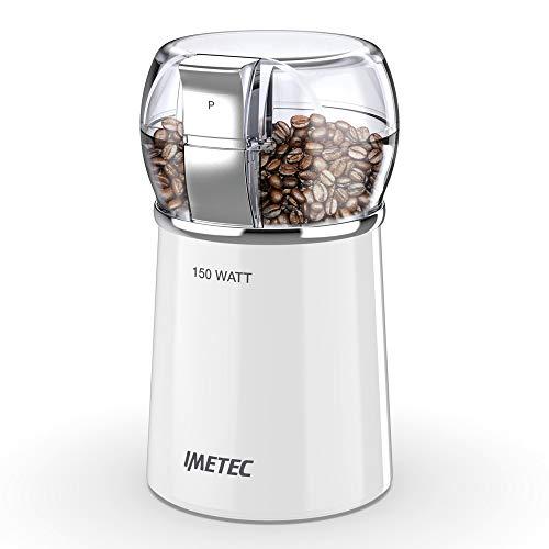 Imetec CG1 100 Macina Caff e Spezie Elettrico con Lame in Acciaio Inox, Contenitore...