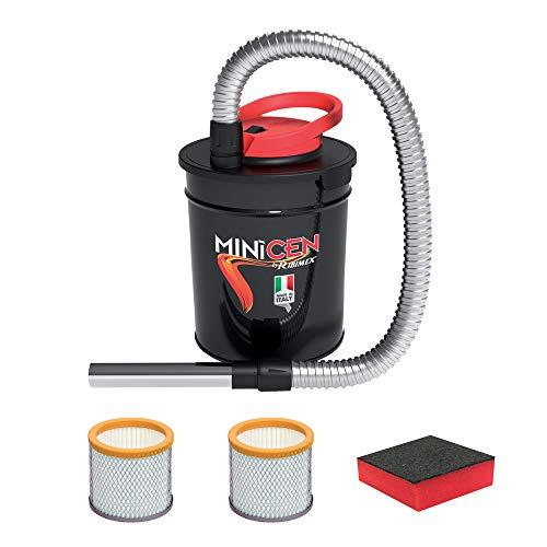ASPIRACENERE ELETTRICO MINICEN 800 W - 10 L con doppio filtro e spugna
