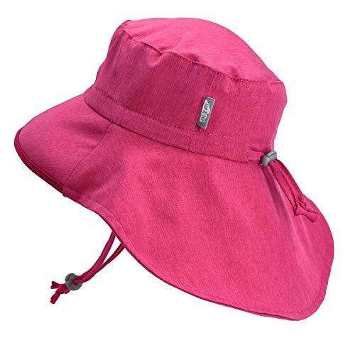 Jan & Jul Baby Sun-Hat, 50+ UPF Neck-Flap, Adjustable
