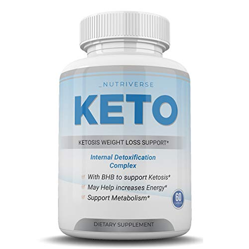 Nutriverse Keto - Ketosis Weight Loss Support - Intenal Detoxificatino Complex - 30 Day Supply 1