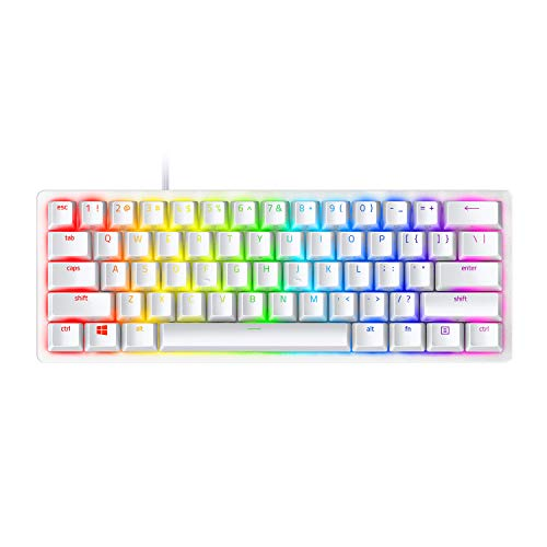 Razer Huntsman Mini 60% Gaming Keyboard: Fastest Keyboard Switches Ever - Clicky Optical Switches -...