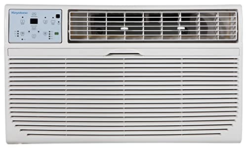 Keystone KSTAT12-1C Energy Star 12,000 BTU 115V Through-the-Wall Air Conditioner with Follow Me LCD Remote Control, 14.500, White
