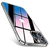 TORRAS 強化ガラス iPhone 12 用 ケース iPhone 12 Pro 用 ケース 2021年最新型 高透明 日本旭……