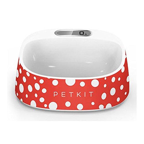 PETKIT(ペットキット) スケール フィーディングボウル, ペットボウル, 抗菌防水犬キャットフードボウル, Po...