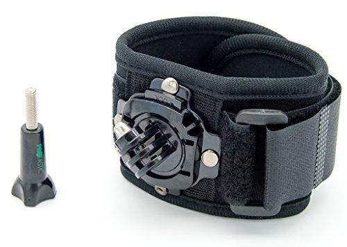 PROtastic Polso/Caviglia Fascia con Rotazione a 360 ° per GoPro Hero, Xiaomi Mi, SJCAM e Altre videocamere – Grande Sott'Acqua.