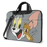 Tom Jerry - Maletín para portátiles y mujeres, para hombres, para oficina, negocios, viajes, tablet, 14 pulgadas