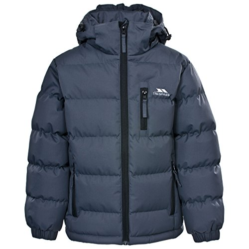 Veste à capuche détachable pas cher - Manteau Garçon - Gris - 11-12 ans (152 cm)