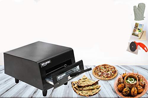 Wellberg Electric Tandoor with Pizza Cutter,Recipe Book, Glove, Magic Cloth 2000-Watt (All...