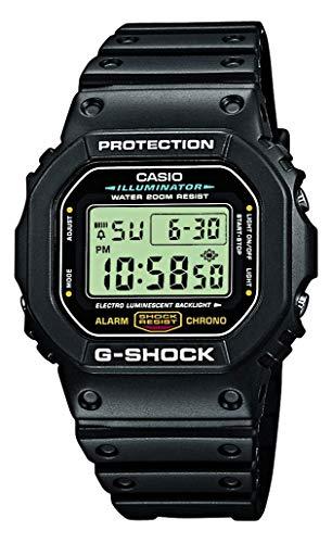 Casio G-Shock Digital Herren-Armbanduhr DW-5600E schwarz, 20 BAR