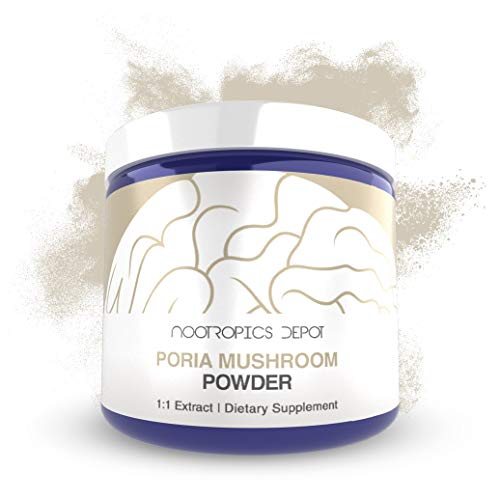 Poria Mushroom Powder | 30 Grams | Wolfiporia extensa | Organic Whole Fruiting Body Extract | Immune Supplement | Promotes Healthy Cellular Function