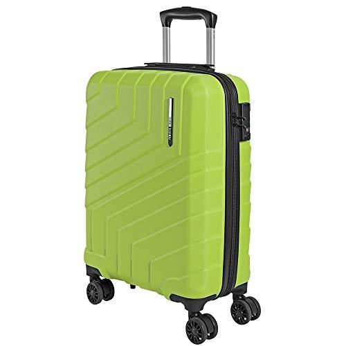 Valigia Trolley da Viaggio Rigida - Idonea Ryanair e Easyjet 55x40x20 cm - Bagaglio a Mano Ultra...