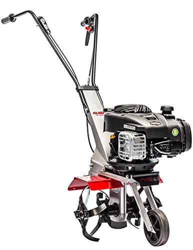 Benzinmotorhacke MH 350-4, leichte wendige Motorhacke, Arbeitsbreite 35 cm, Motorleistung 1,7 kW, sehr handlich für einfache Bodenbearbeitung, klappbarer ergonomischer Holm, 4 effektive, robuste Hackmesser