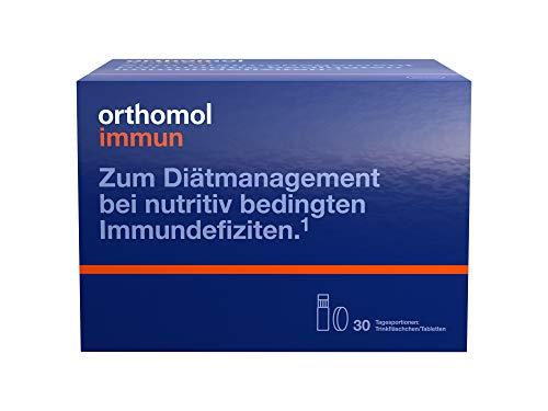 Orthomol immun 30 Trinkampullen & Tabletten - Vitamine & Spurenelemente - Komplex zur Unterstützung für das Immunsystem