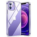 TORRAS 超高透明 iPhone 12 用ケース iPhone 12 Pro 用ケース 超薄型 超軽量 耐衝撃 10倍黄変……